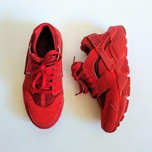 Nike Air Huarache Varsity Red Sneakers Sports
